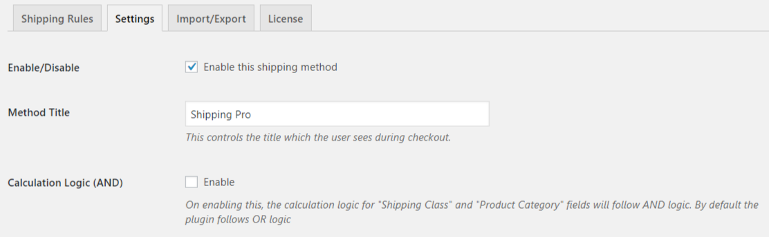 WooCommerce Shipping Pro - Chapter 1: Setting Up Plugin - PluginHive