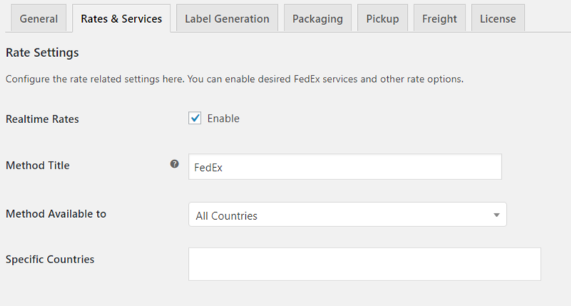 Setting Up WooCommerce FedEx Shipping Plugin - PluginHive