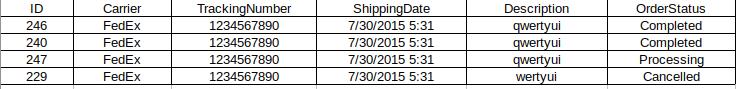 Shipment tracking pro