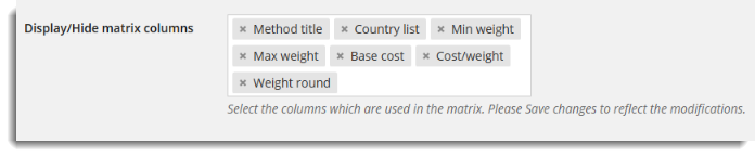 woocommerce weight based shipping options
