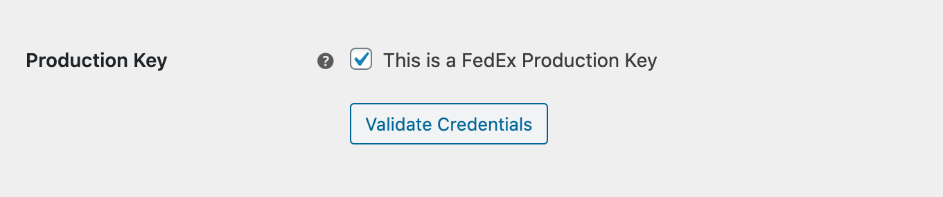 woocommerce fedex address validation