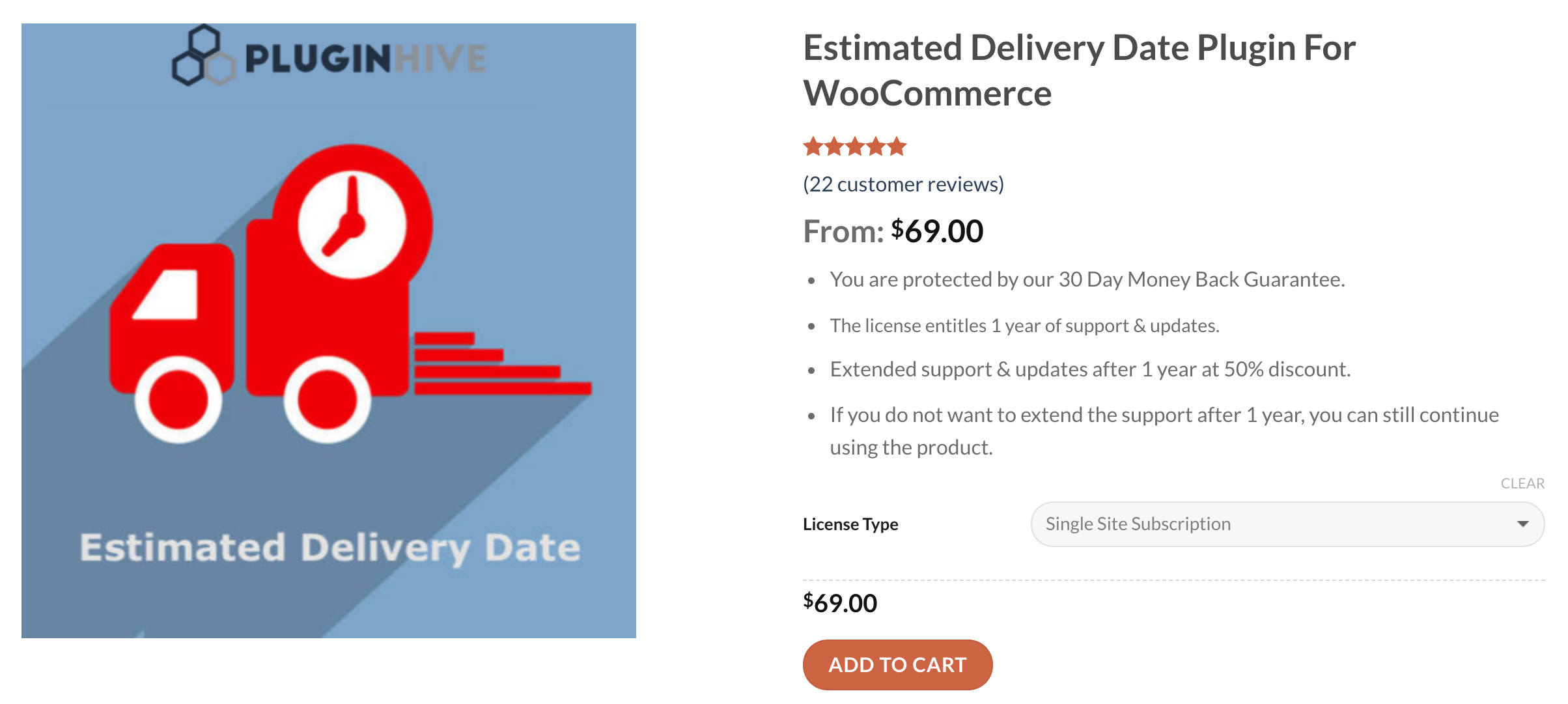 woocommerce estimated delivery date