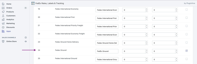 fedex ground rates