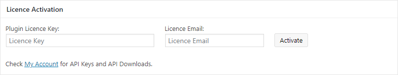 Multi-Carrier license settings