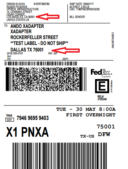 woocommerce fedex shipping label