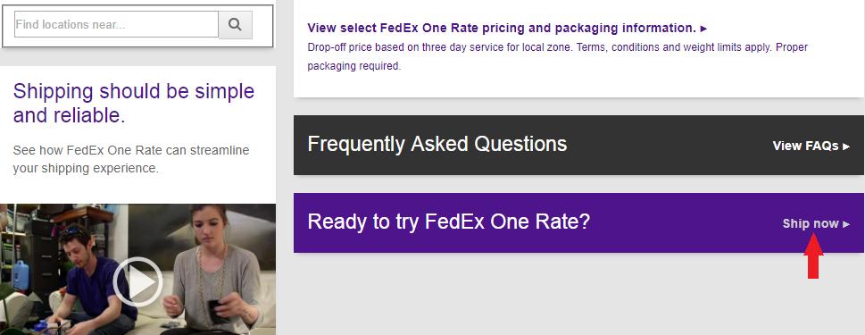 fedex one rate