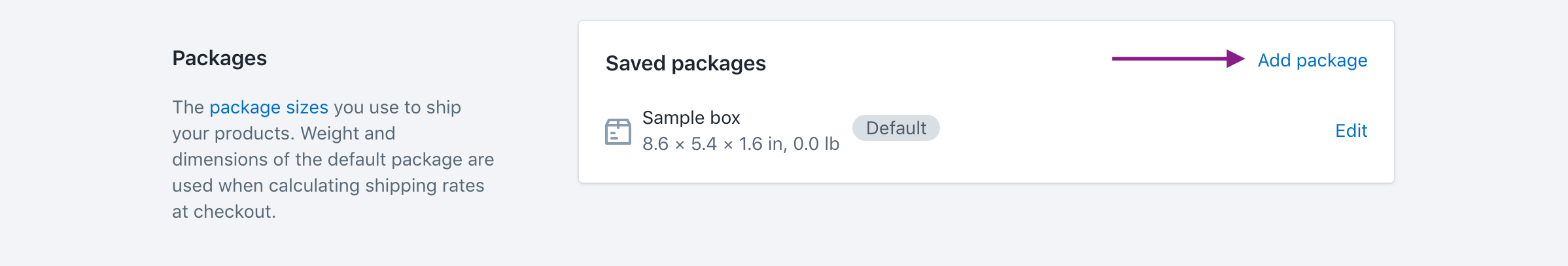 shopify fedex app boxes