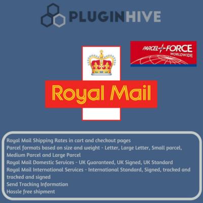 Royal Mail shipping plugin