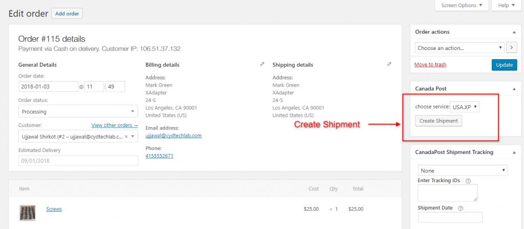WooCommerce Canada Post Shipping Plugin