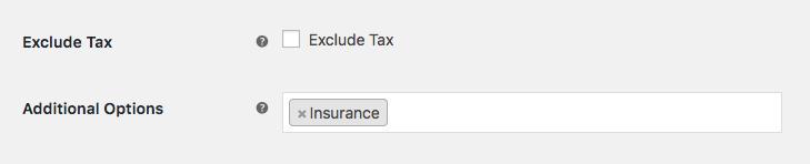 Insurance Option