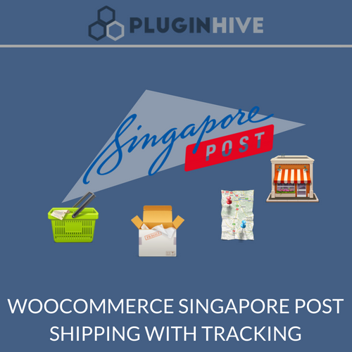 WooCommerce Singapore post shipping with tracking