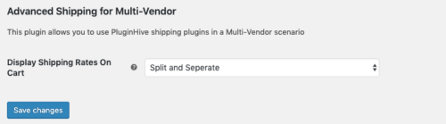 Split and sum or Split and Separate option on Advance Multi-Vendor Addon