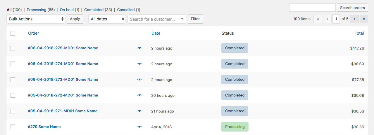 woocommerce shipment tracking orders completed