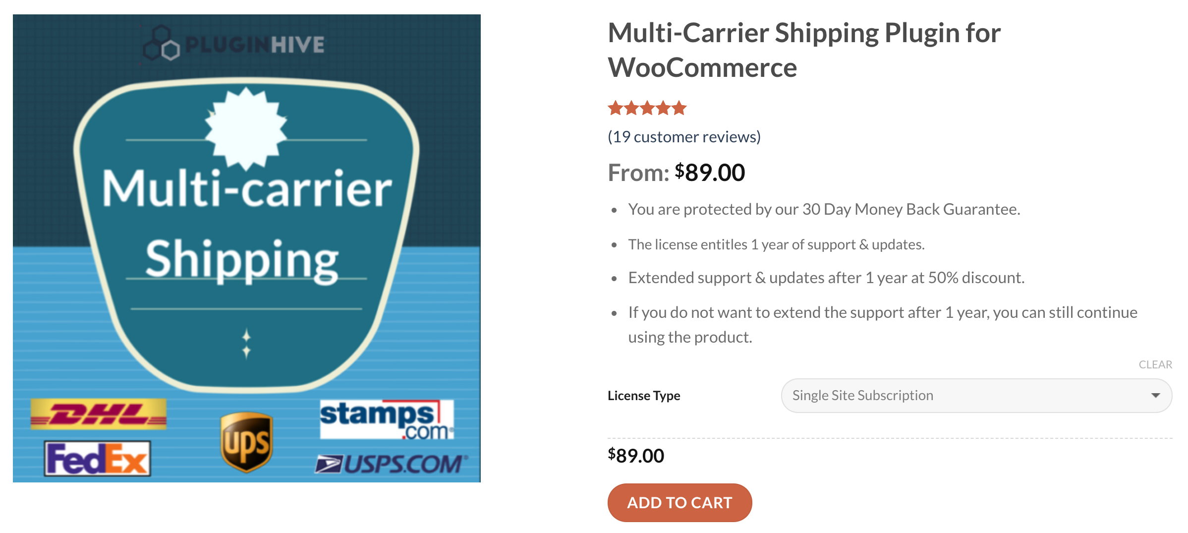 woocommerce multi-carrier shipping