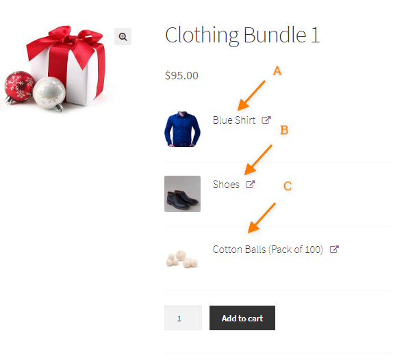 creating woocommerce product bundle