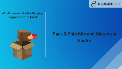 WooCommerce FedEx Shipping PLugin