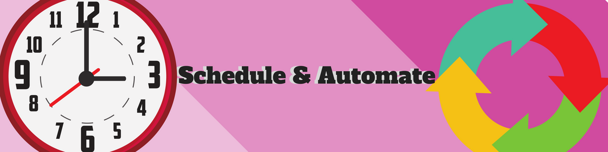 Schedule & Automate Tracking Details Import