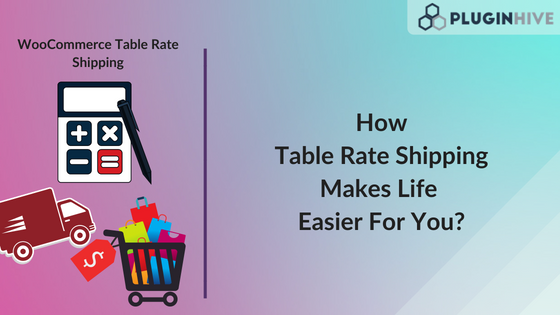 Table Rate Shipping