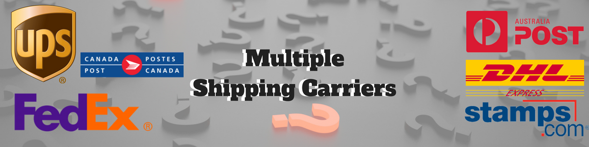 Multiple Shipping Carriers