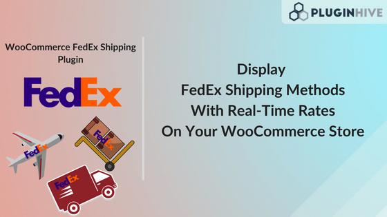 WooCommerce FedEx Shipping methods