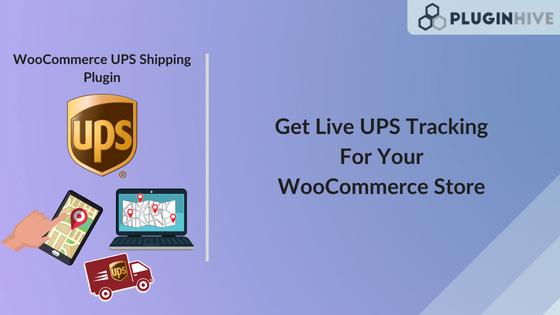 Live UPS Shipment Tracking for your WooCommerce store