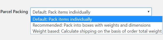 Parcel Packing Methods