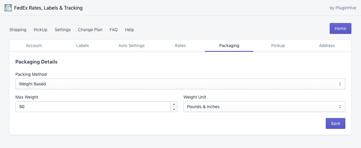 packagin_settings