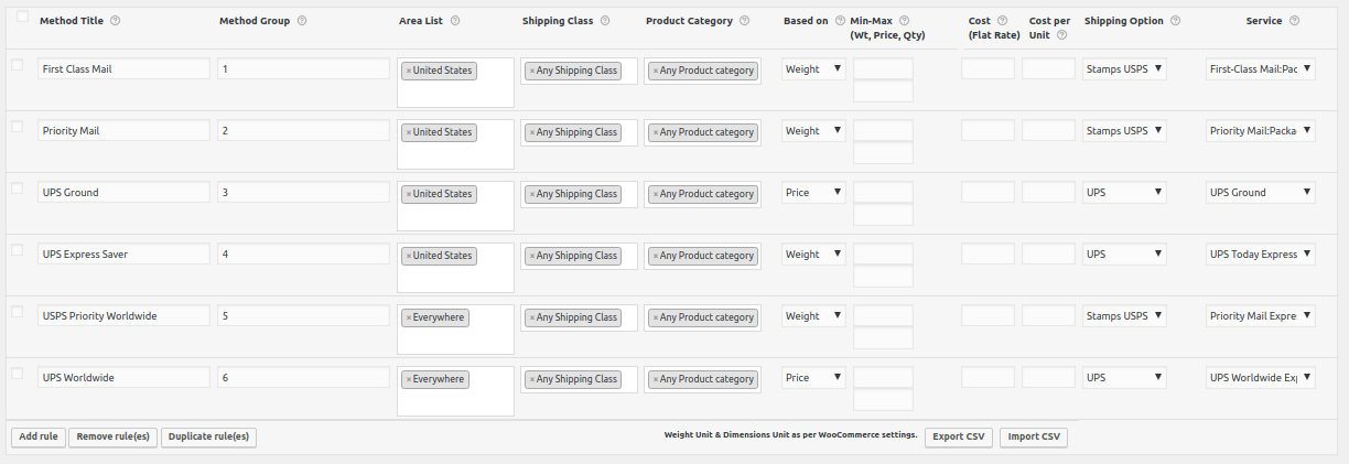 UPS and USPS - Display WooCommerce Shipping Rates with Price