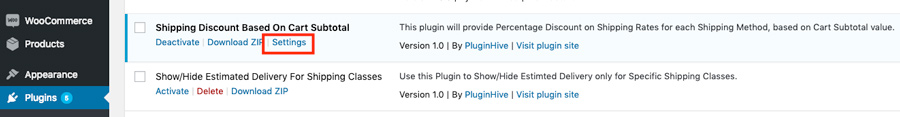 Plugin-Settings