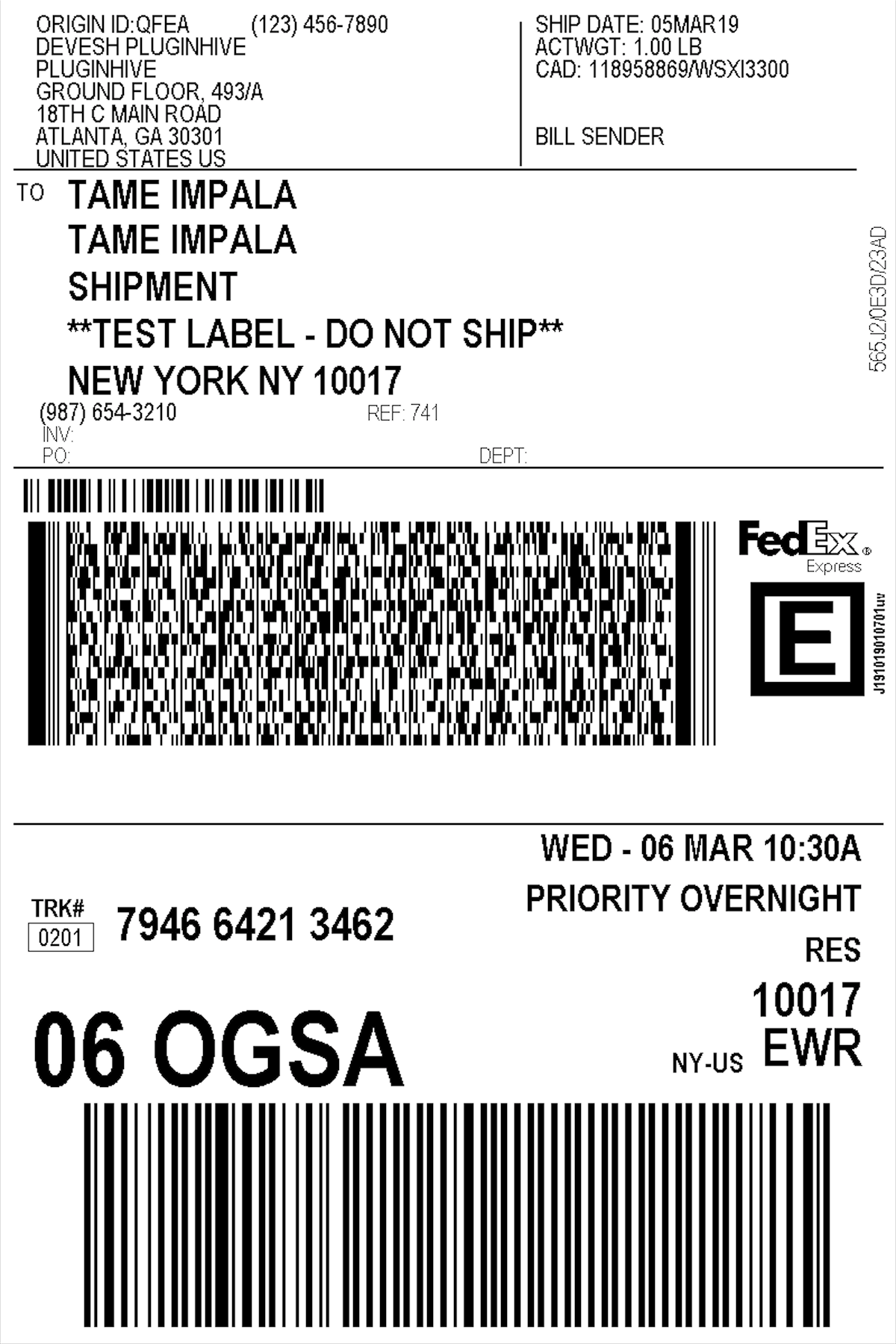 fedex_express_shipping_label