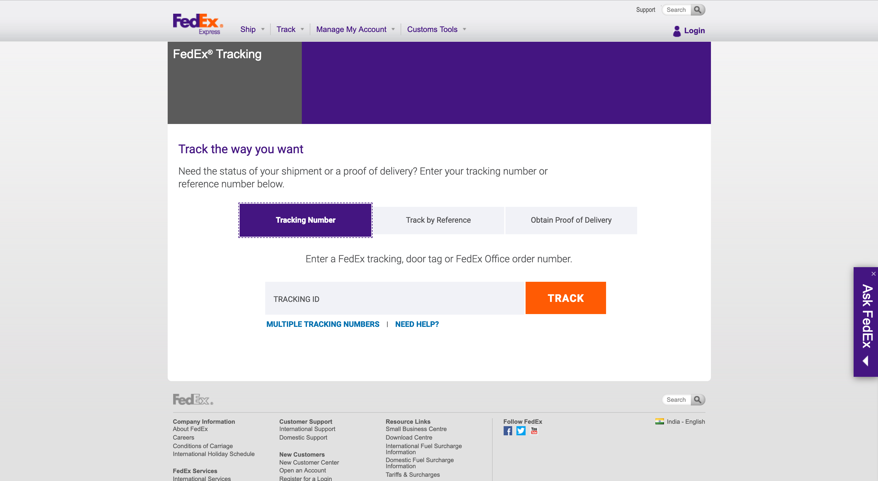 photo about Fedex Door Tag Printable named FedEx Monitoring Intended Very simple for WooCommerce Consumers - PluginHive