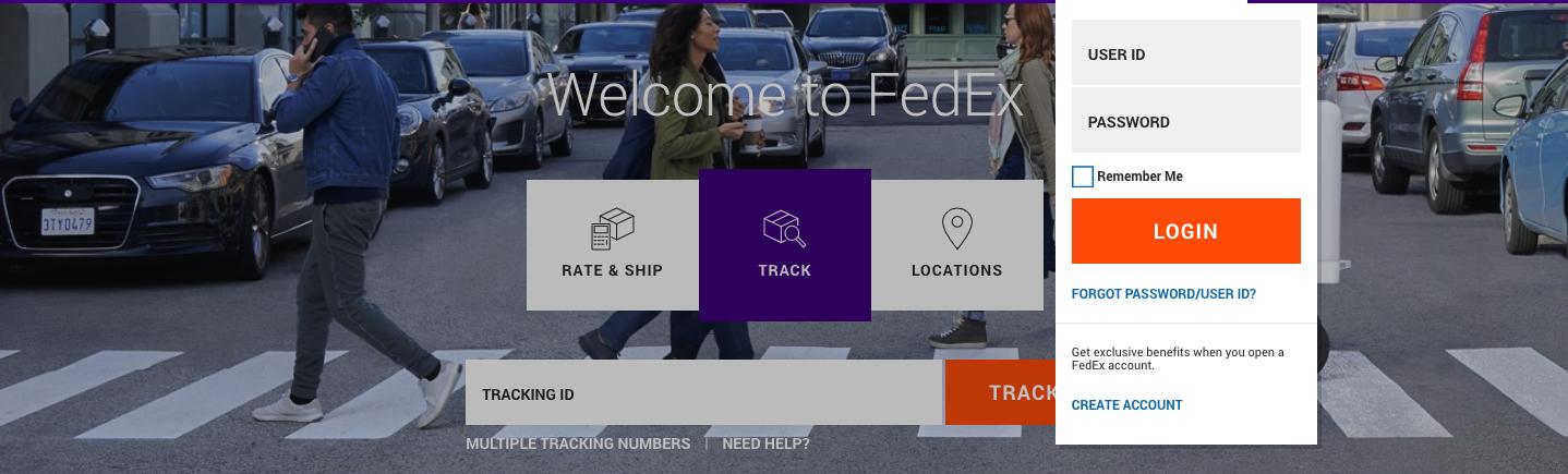FedEx Sign-Up