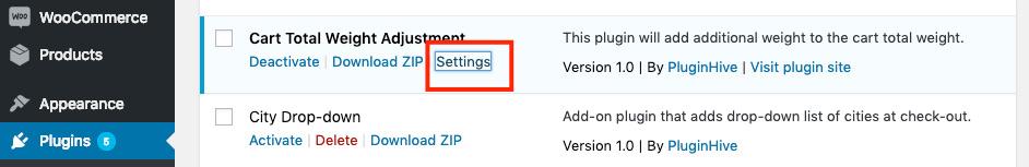 woo bookings plugin settings
