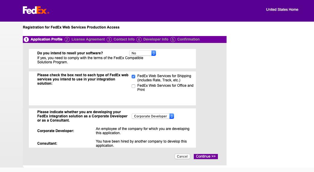 FedEx Form
