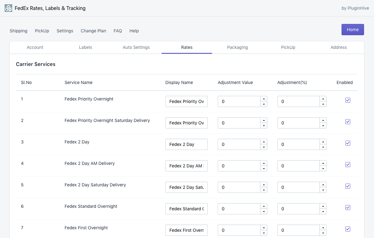 Shopify FedEx Shipping App with Print Label & Tracking
