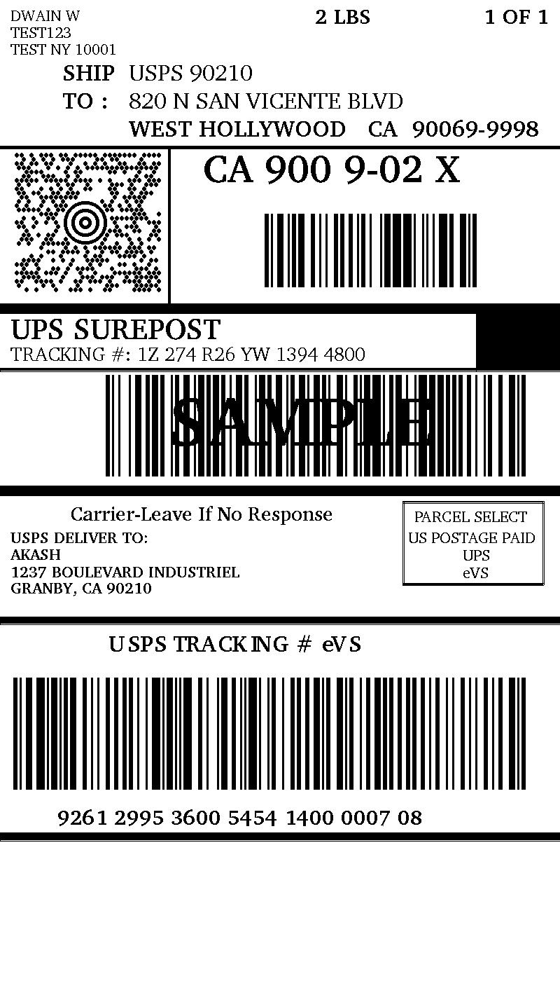 UPS SurePost