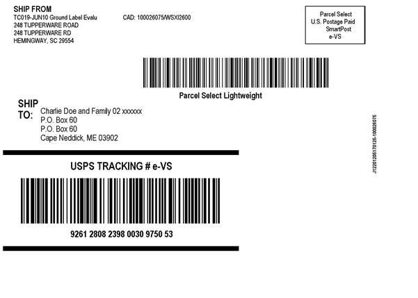 fedex smartpost label