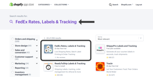 Installation and Activation of Shopify FedEx App - PluginHive