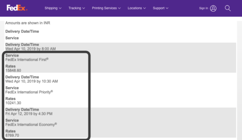 Display FedEx Shipping Methods With Real-Time Rates on Your