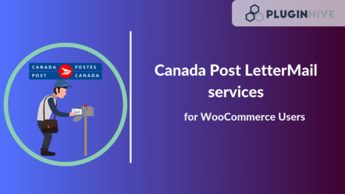 Canada post letter mail services