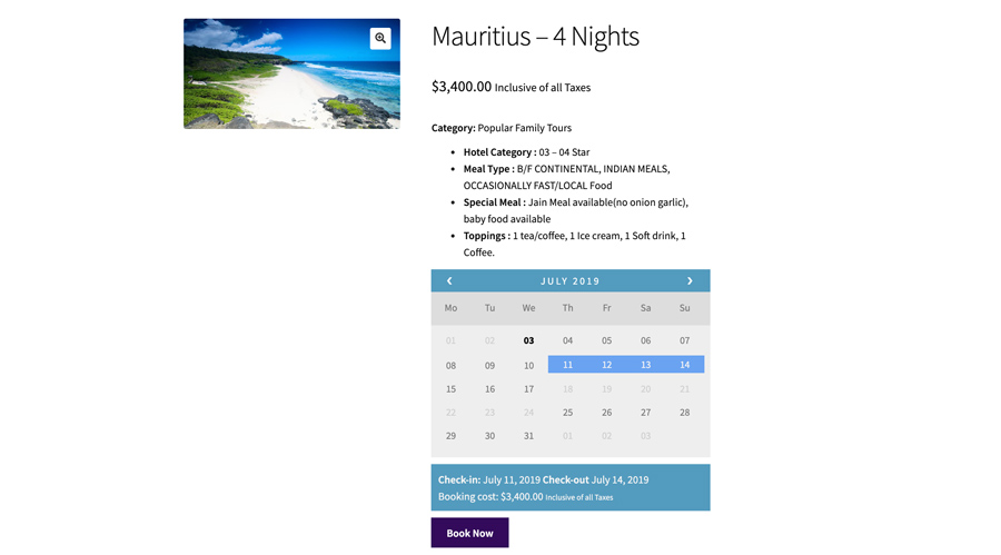 Booking-tours