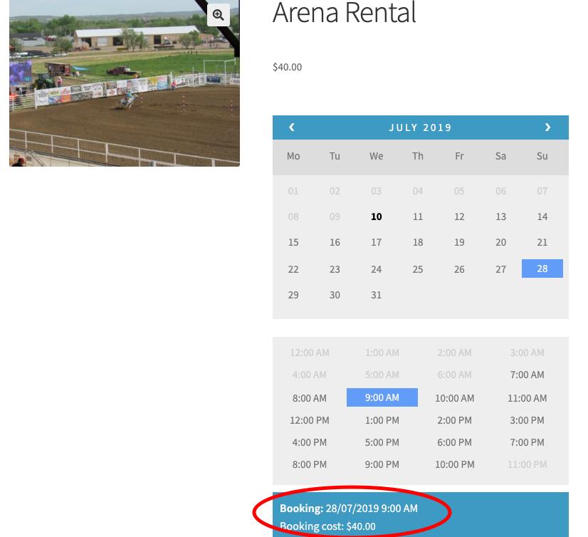 Indoor Arena Rentals