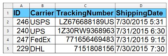 Tracking-details-via-CSV