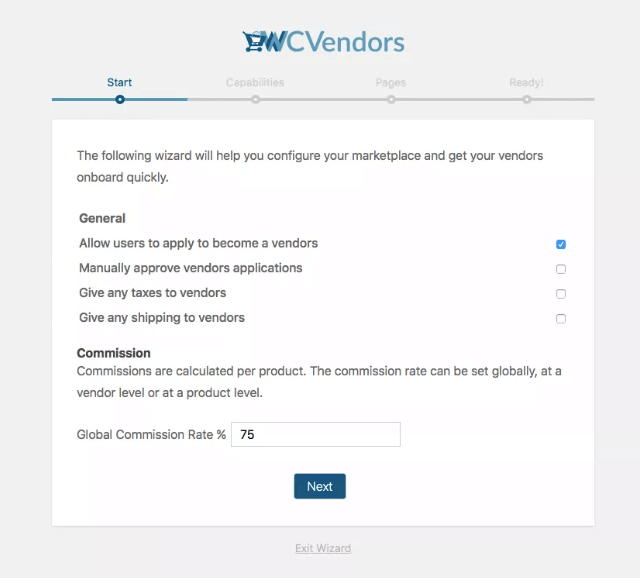 Setting up WC Vendors for Multi-Vendors
