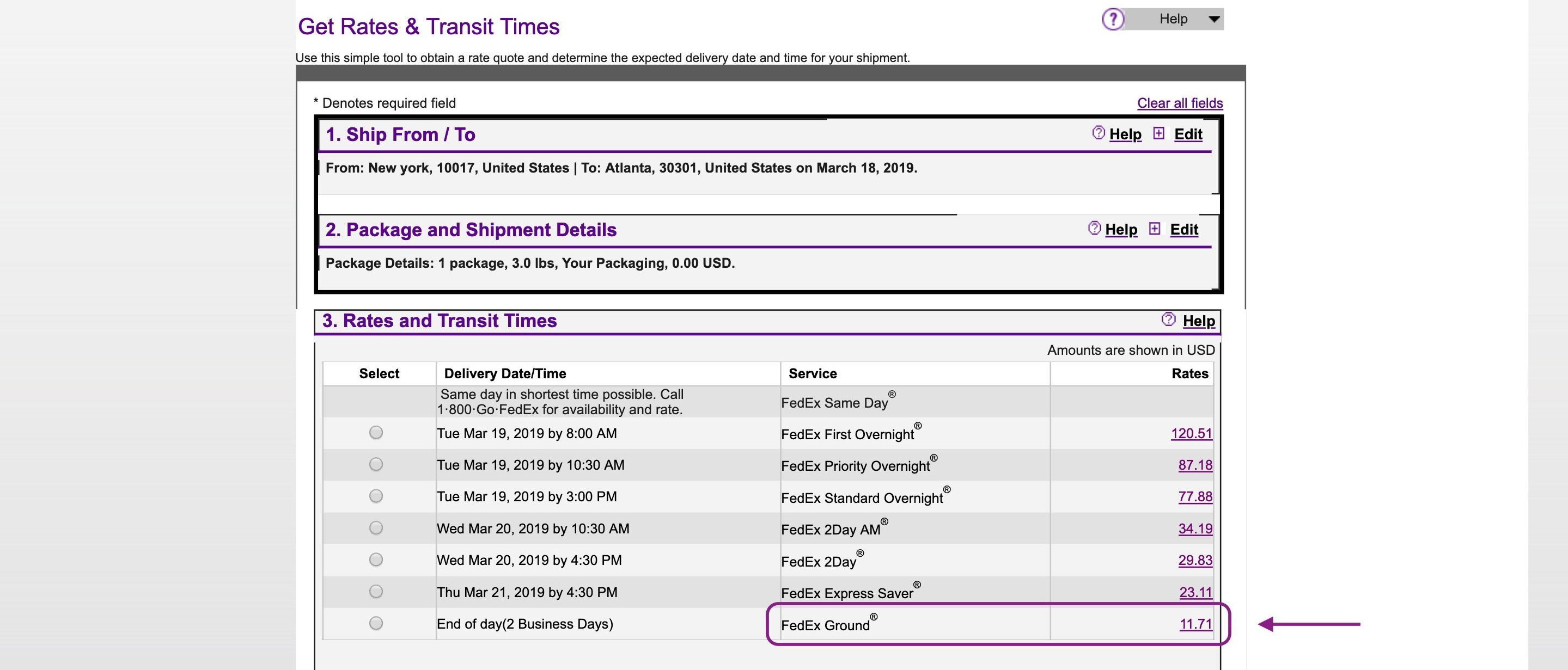 Use FedEx ground on your WooCommerce store to save money