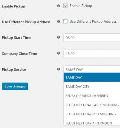 Schedule FedEx Pickup within WooCommerce