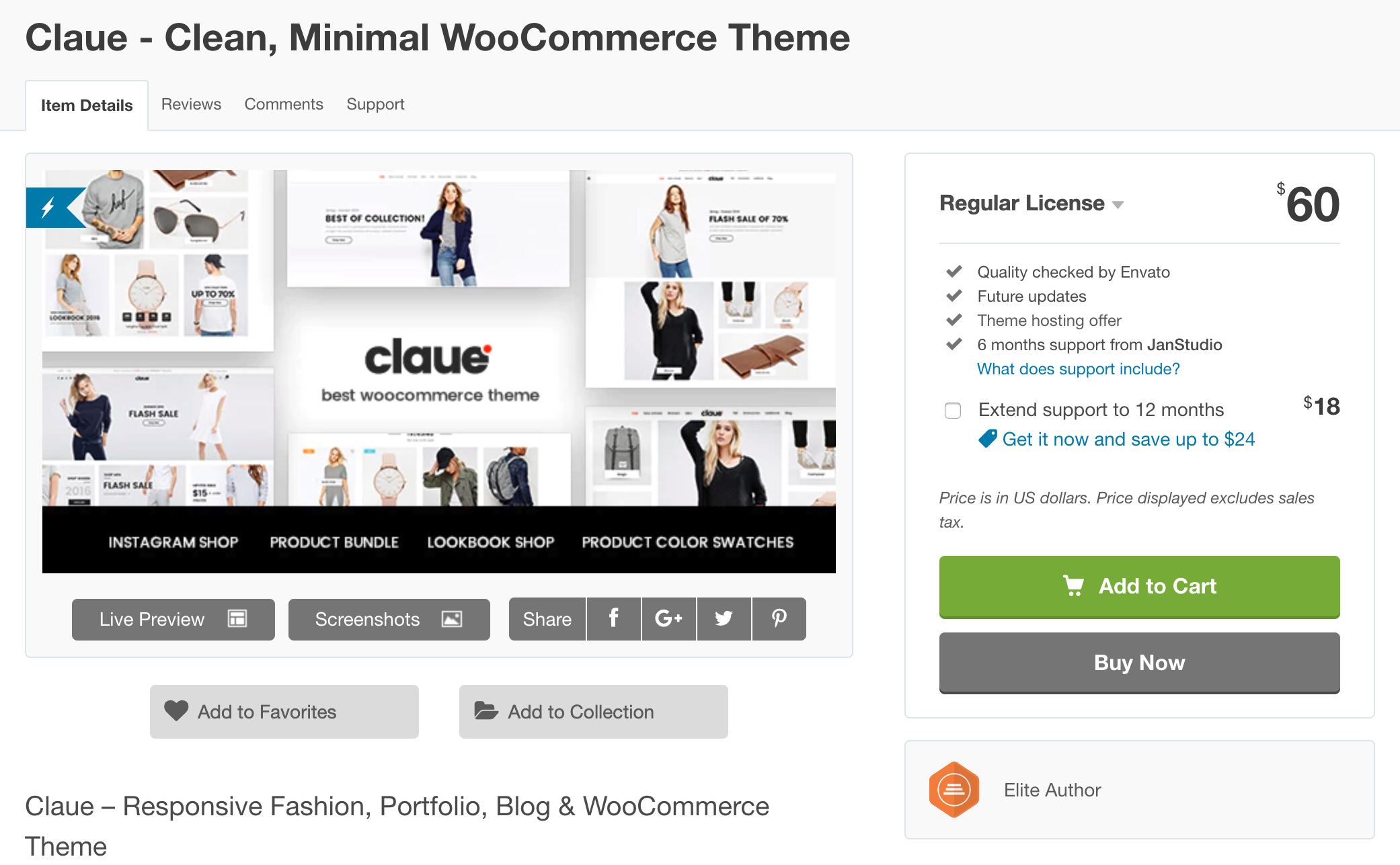 claue wordpress theme
