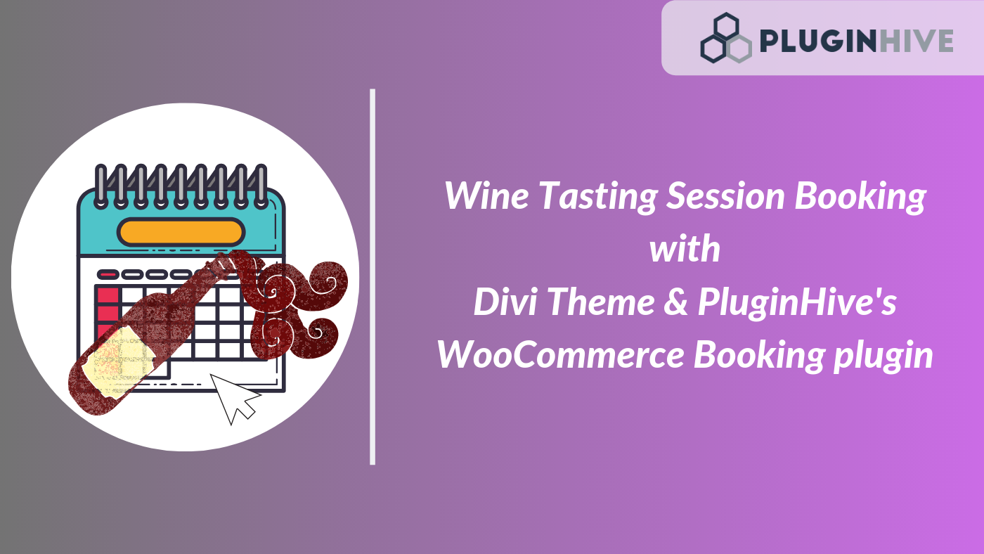 The Dutch Wine Tasting - Provide Online Booking using Divi Theme & WooCommerce Bookings