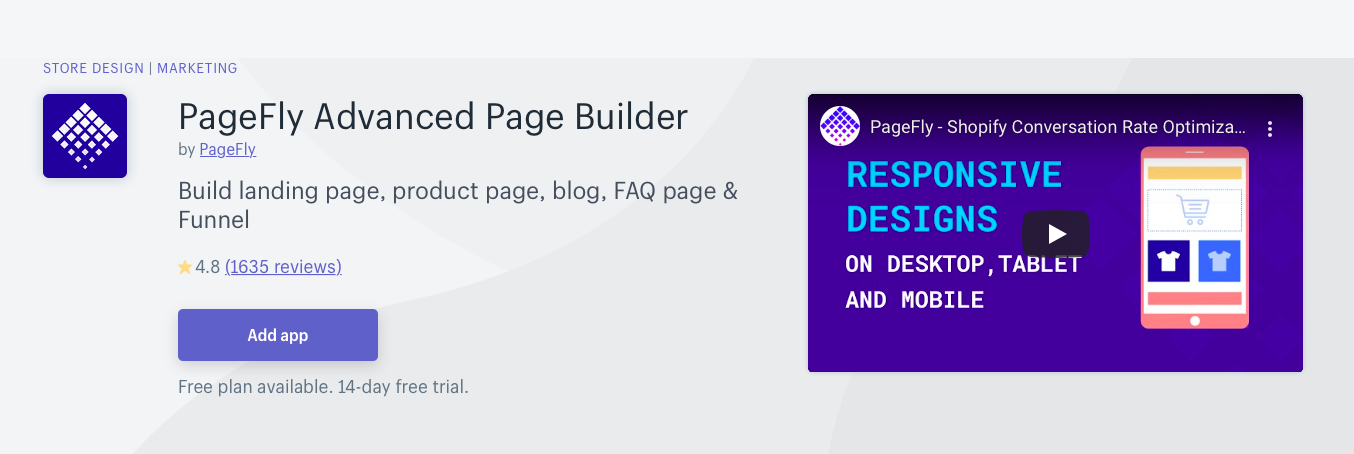 PageFly Advanced Page Builder