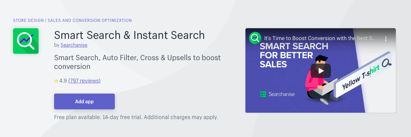 Smart Search Instant Search